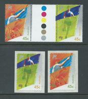 Australia 2000 Para Olympics 45c Gutter Pair & 2 Peel & Sick Sinles MNH - 2000-09 Elizabeth II
