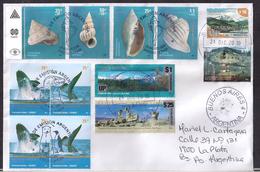 Argentina - 2009 - Faune Antarctique - Coquillages - Baleines - Argentinien