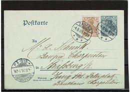 LCTN59/ALS 2 - ALSACE LORRAINE - CP  ZABERN 4/8/1905 - Alsazia-Lorena