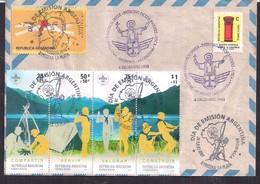 Argentina - 2010 - Cachets Spéciaux - San Francisco Javier - Patron Des Raiders - Lettres & Documents