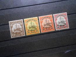 D.R.Mi 7*/ 11**/ 12*/13* - Deutsche Kolonien ( Kamerun ) 1900 - Mi 11,80 € - Colony: Cameroun