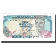 Billet, Zambie, 10 Kwacha, KM:31b, SPL - Zambia