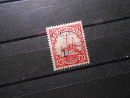 D.R.2  1d Auf 10Pf*MLH  Deutsche Kolonien (Kamerun) 1915 - Britische Besetzung - Colony: Cameroun