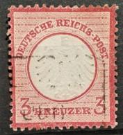 DEUTSCHES REICH 1872 - Canceled - Mi 9 - Kleines Brustschild 3kr - Allemagne