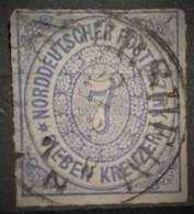 NORDDEUTSCHER POSTBEZIRK 1868 - Canceled - Mi 10 - 7kr - Norddeutscher Postbezirk