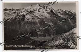 1934 - COGNE - Valle D'aosta - MINIERE ANSALDO E MASSICCIO GRIVOLA - Aosta