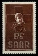 SAARLAND 1954 Nr 350 Postfrisch X9694DE - Unused Stamps