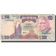 Billet, Zambie, 50 Kwacha, KM:28a, TTB - Zambia
