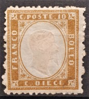 ITALY / ITALIA 1862 - MNG - Sc# 17 -10c - 1861-78 Victor Emmanuel II.