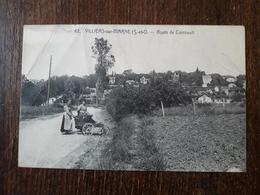 L26/163 Villiers Sur Marne - Route De Combault - Villiers Sur Marne