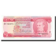 Billet, Barbados, 1 Dollar, Undated (1973), KM:29a, NEUF - Barbados