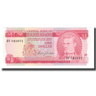 Billet, Barbados, 1 Dollar, Undated (1973), KM:29a, NEUF - Barbades
