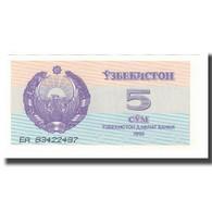 Billet, Uzbekistan, 5 Sum, 1992 (1993), KM:63a, NEUF - Ouzbékistan