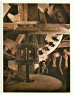 Santana Da Serra - Moinho De Fitos - N.º 9 - Usos E Costumes, Profissões, Windmill - Ed. C. M. OURIQUE (Fot. Luís Pavão) - Beja