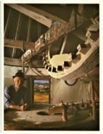 Santa Luzia - Moinho - N.º 11 - Usos E Costumes, Profissões, Windmill - Ed. C. M. OURIQUE (Fot. Luís Pavão) - Beja