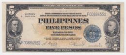 Philippines 5 Pesos 1944 UNC NEUF Pick 96 - Philippines