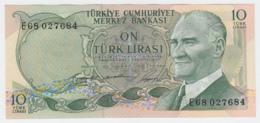 TURKEY 10 Lirasi 1966 UNC NEUF Pick 180 - Turkije