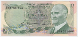 TURKEY 10 Lirasi 1966 UNC NEUF Pick 180 - Turkey