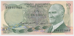 TURKEY 10 Lirasi 1966 UNC NEUF Pick 180 - Turchia