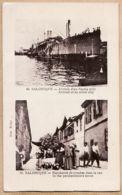 Eus046 SALONIQUE SALONICA 1917 Arrivée Navire Allié- Marchand De Rue Cruches à Paulette BOURDEL Cebazan-ROLLET 95 - Griechenland