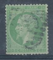 N°20 CACHET A DATE BELLE FRAPPE. - 1862 Napoléon III.
