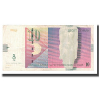 Billet, Macédoine, 10 Denari, 2001, KM:14c, TTB - Macédoine