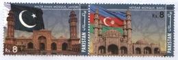 MNH**  PAKISTAN & AZERBAIJAN JOINT ISSUE Commemorative Postage Stamp - 2018) - Pakistan