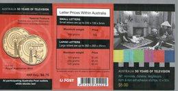AUSTRALIE 2006 CARNET  : TELEVISION AUSTRALIENNE  YVERT N°C2612-1 NEUF MNH** - Booklets
