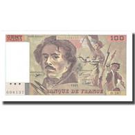 France, 100 Francs, Delacroix, 1995, SPL, Fayette:69ter.2c, KM:154h - 1962-1997 ''Francs''