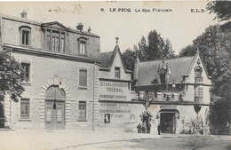 Le Pecq (Seine-et-Oise) Le Spa Français, Etablissement Thermal, Restaurant - Carte E.L.D. N° 8 - Le Pecq