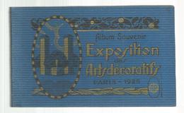 Cp, Album Souvenir , 75 , Paris , Exposition Des Arts Décoratifs ,1925 , Ed. Papeghin , ALBUM DE 20 CARTES POSTALES - Mostre