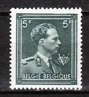 696b**  Leopold III Col Ouvert - Bonne Valeur - Tête D'ivoire - MNH** - LOOK!!!! - 1936-1957 Col Ouvert