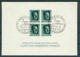 DEUTSCHES REICH 1936 Bl.8 Gestempelt (200260) - Deutschland