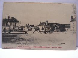 CPA 61 ORNE LE BOURG SAINT LEONARD VAUTRAIT DE FALANDRE RETOUR DES CHASSES A COURRE 469 - Francia