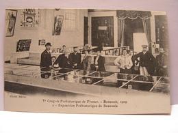 CPA 60 OISE CONGRES PREHISTORIQUE BEAUVAIS 1909 EXPOSITION PREHISTORIQUE 476 - Beauvais
