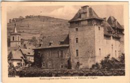 51bm 1904 CPA - ENTRAYGUES SUR TRUYERE - LE CHATEAU ET L'EGLISE - Autres Communes