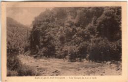 51bm 1905 CPA - ENTRAYGUES SUR TRUYERE - LES GORGES DU LOT A LETH - Autres Communes