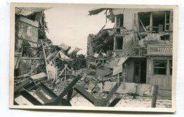 Carte Photo 62 : BERCK  Ruines Avec Pension   A  VOIR  !!!!!!! - Berck