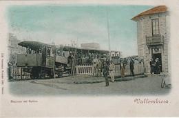 RPCP, Italie, Vallombrosa, Stazione Del Saltino, Photo Of Old  Postcard, 2 Scans - Treni