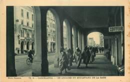 MAROC - CASABLANCA -  LES ARCADES DU BOULEVARD DE LA GARE - Casablanca