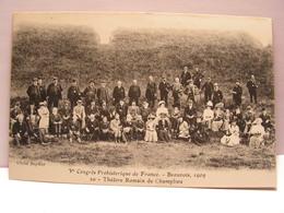 CPA 60 OISE CONGRES PREHISTORIQUE BEAUVAIS 1909 THEATRE ROMAIN DE CHAMPLIEU 487 - Beauvais