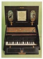 Nürnberg - Germanisches Nationalmuseum - Automaten-Oktav-Virginal - Um 1640 - Museen