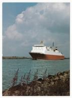 Schiff Auf Dem Nord-Ostsee-Kanal - Schiffe