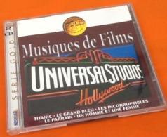 CD (double) Musiques De Films  Universal Studios Hollywood Série Gold (1998) - Filmmusik