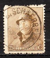 172  Roi Albert Casqué - Bonne Valeur - Oblit. Centrale SCHAERBEEK 3 - LOOK!!!! - 1919-1920 Roi Casqué