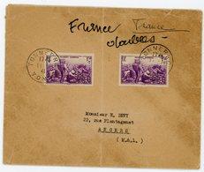 YONNE ENV 1941 TONNERRE 468 SURTAXE X 2 EXEMPLAIRESSCANS - Storia Postale