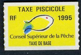 Timbre Fiscal De Pêche Neuf - Taxe De Base - 1995 - Fiscales