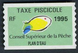 Timbre Fiscal De Pêche Neuf - Plan D'Eau - 1995 - Fiscales