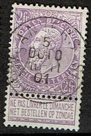 67  Obl  Anvers (Abonnement)  + 30 - 1893-1900 Schmaler Bart