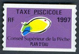 Timbre Fiscal De Pêche Neuf - Plan D'Eau - 1997 - Fiscales